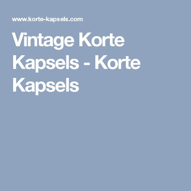 Vintage Korte Kapsels - Korte Kapsels