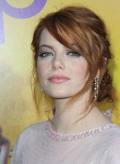 Love Emma Stone..would definitely dye my hair her color red if I wouldn't regret it.