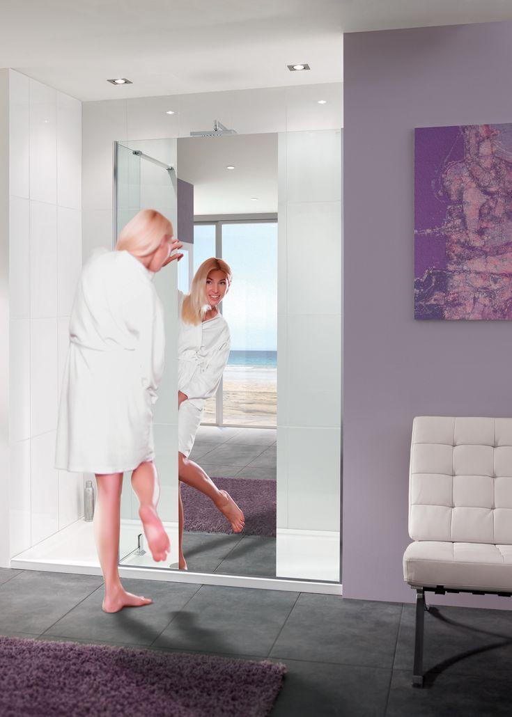 Mirror: Nice Shower Enclosure |  Lakes Bathrooms