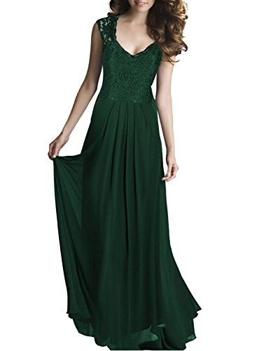 Miusol lace bodycon green dress