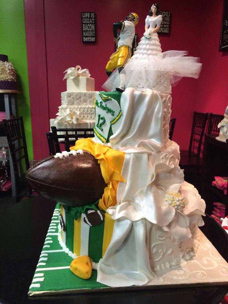 Packer wedding cake