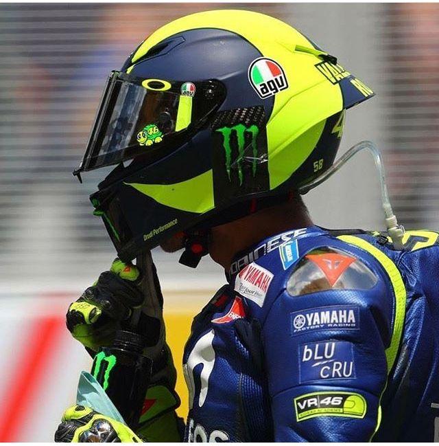 Motorradhelm Valentino Rossi