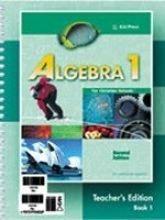 Algebra 1 for Christian Schools, Teacher's Edition (2 Volumes)