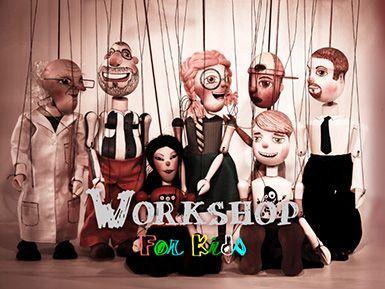 Atelier de teatru de papusi http://www.evenimenteinoradea.ro/distractie/46-happenings/640-atelier-de-teatru-de-papusi