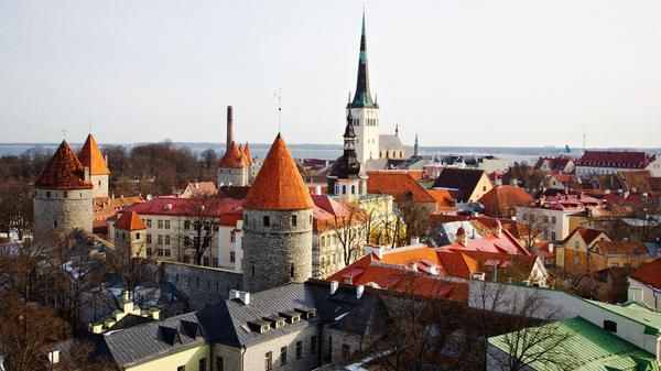 Tallinn's story, written in the sky