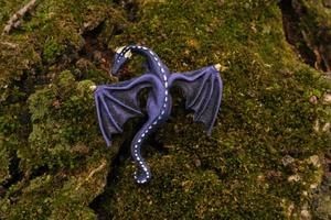 Handmade Resin Dragon lapel pin
