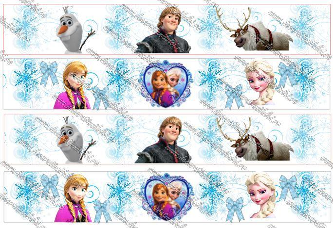 Banda comestibila Frozen https://decoratiunidulci.ro/imprimari-si-decupari-foi-de-icing