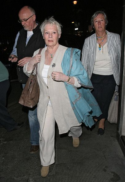 Judi Dench Photos: Judi Dench Arriving At Ivy Club In London