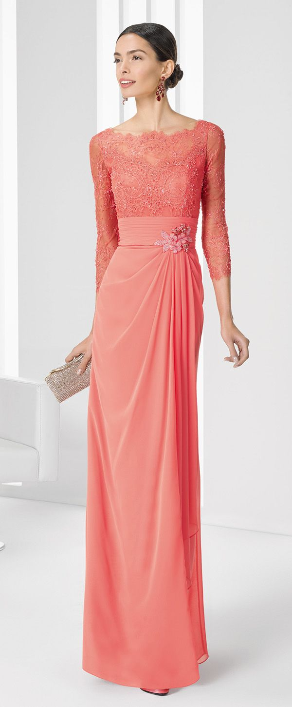 81 best Mother of the bride dresses images on Pinterest | Long prom ...