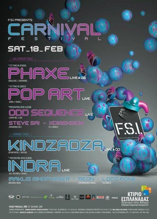F.S.I. CARNIVAL FESTIVAL 2012 DESIGN BY Alex Neuf