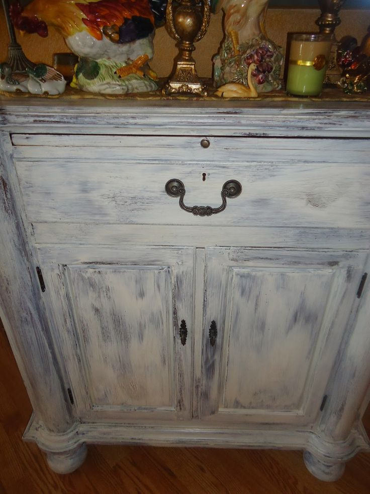 Judy's Cottage Garden: 5 Easy Steps to Crackle Furniture