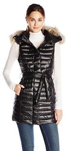 Pajar Women's Lexi Pro Long Belted Down Vest on shopstyle.com.au