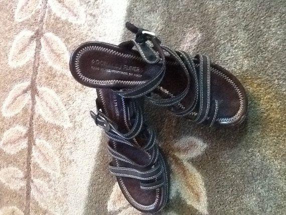 Vintage Donald J Pliner Sandals by RESTYLE576 on Etsy, $35.00