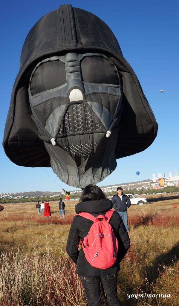 Yo, mi mochila y Darth Vader