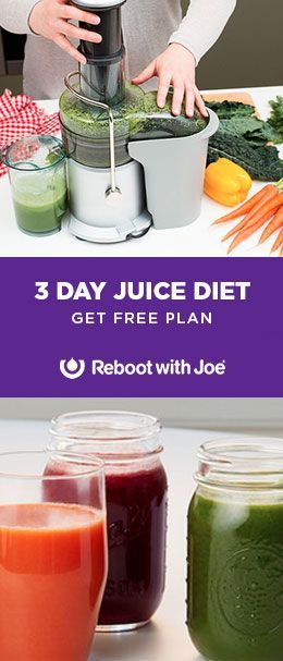 FREE Juice Only Diet Plan - Includes recipes, shopping lists and more