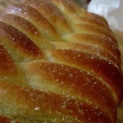 Nissua is a tender Finnish sweet bread made with cardamom. This bread is formed into braided loaves or wreaths, and topped with a simple frosting.