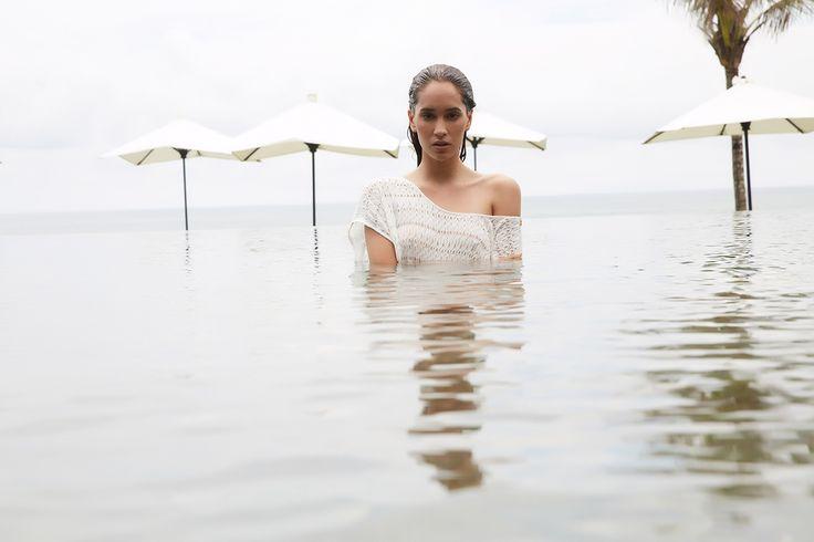 Harlow Boat Tee // #beachgold #beachgoldbali #bali #resortwear #fashion #luxury #resortclothing