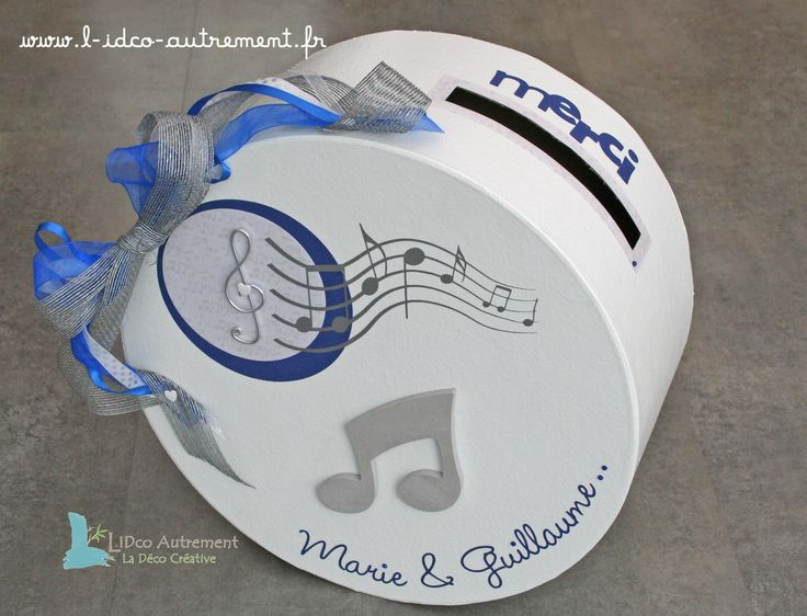 72 best decoration mariage theme musique images on pinterest for Decoration urne