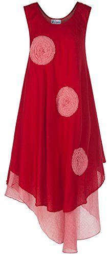 100% Cotton Dress 4 Color Hippie Lagenlook Boho Hobo By Degaro NANDR177 (Red) Degaro http://www.amazon.com/dp/B00WJ0MPJ8/ref=cm_sw_r_pi_dp_2hevvb1RHTPT3