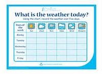 weather chart for kids - Bing Images, make a weather station? Temperature? Graph? Read Cloudy with a Chance of Meatballs or RAIN, or something else...