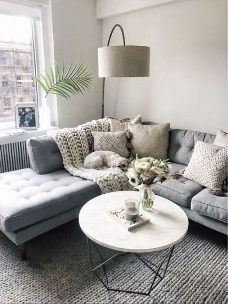 37 Relaxing Apartment Living Room Decorating Ideas