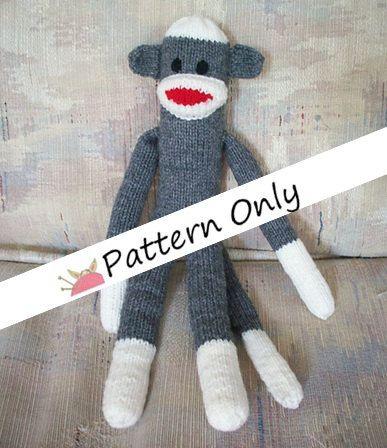Free Sock Monkey Knitting Pattern Image Collections Knitting