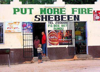 Reason #32 We have 24-hour convenience stores @Nando's Original (South Africa)