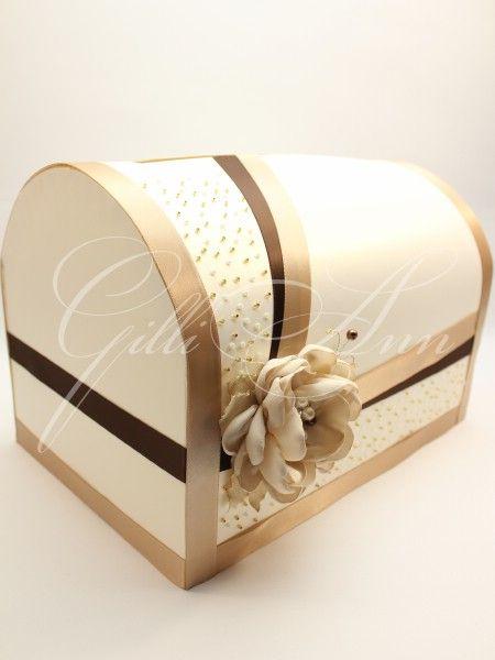 Свадебный сундучок Gilliann Amore Caffa BOX020 #weddingbox