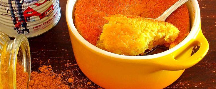 pouding chomeur curry - chaudement recommendé par Alain