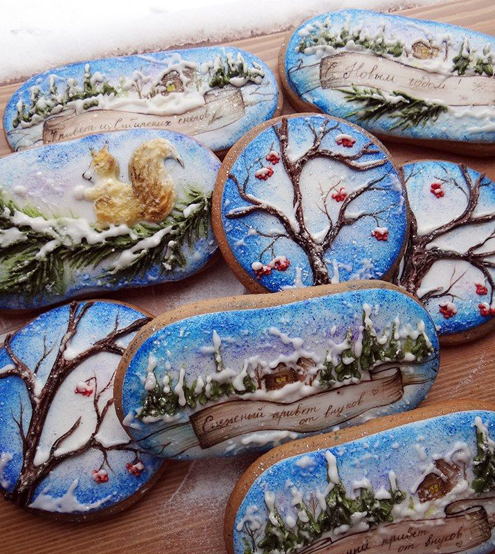 Winter cookies https://vk.com/pryanichnay_ckazka