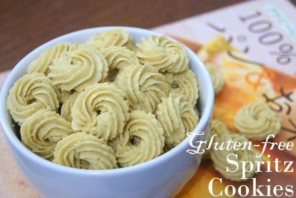 Gluten-free Spritz Cookies