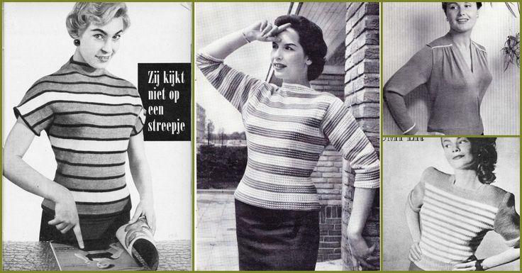 Gratis vintage breipatronen #2 Jumpers!