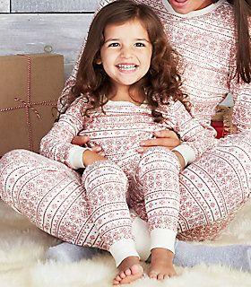 Burts Bees Baby Fair Isle Pajamas