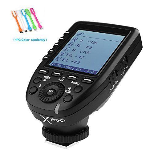 Godox XPro-C E-TTL 2.4G Wireless High Speed Sync 1/8000s ... https://www.amazon.com/dp/B0772869SC/ref=cm_sw_r_pi_dp_x_Y4ucAb7RKEWS2
