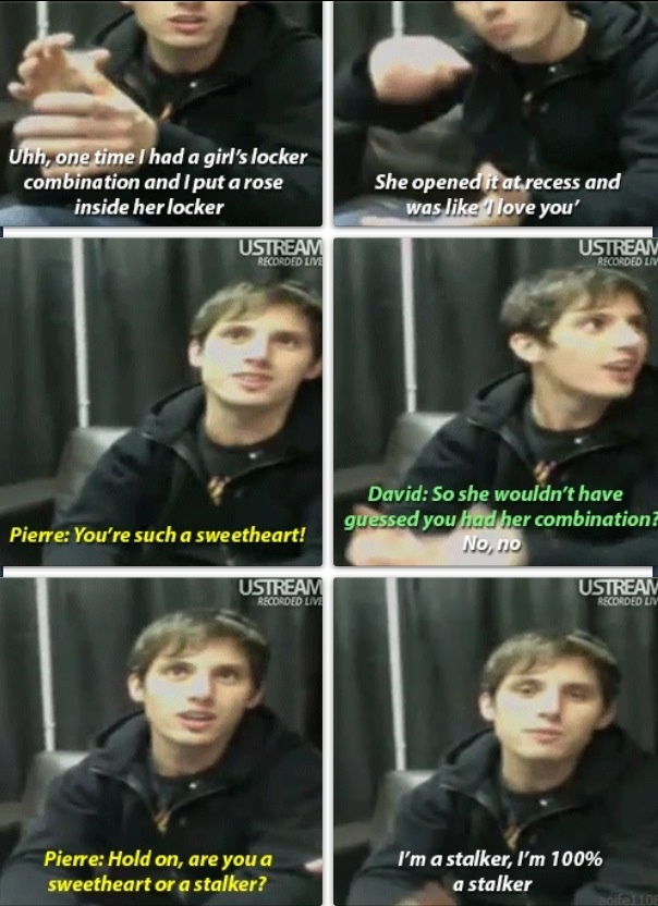 Matt from Mariana's Trench