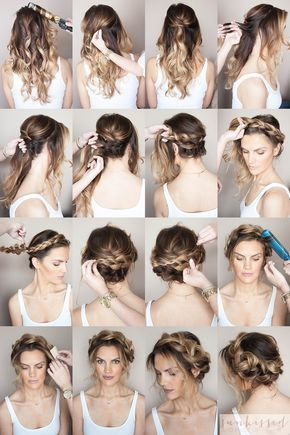 Crown Braid tutorial // braided crown how to // halo braid tutorial // Sunkissed and Made Up
