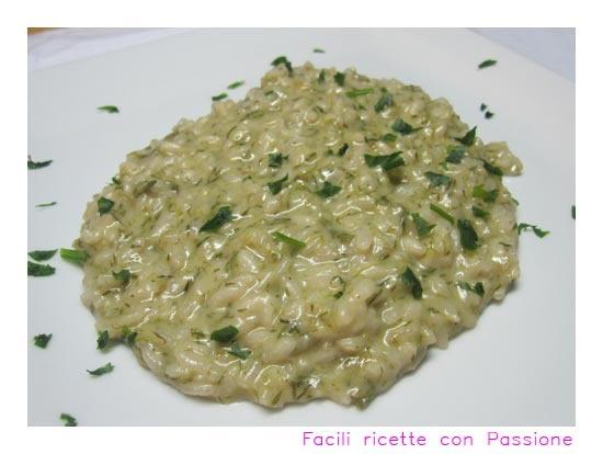 Risotto ai bruscandoli (asparagi selvatici)