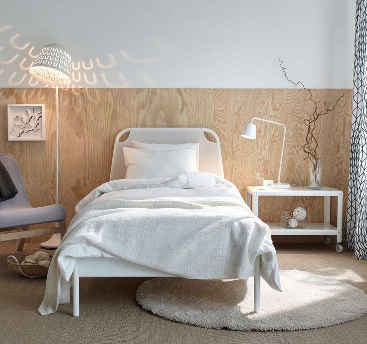 Die besten 25+ Sperrholz kopfteil Ideen auf Pinterest Ikea lampe - wohnideen schlafzimmermbel ikea