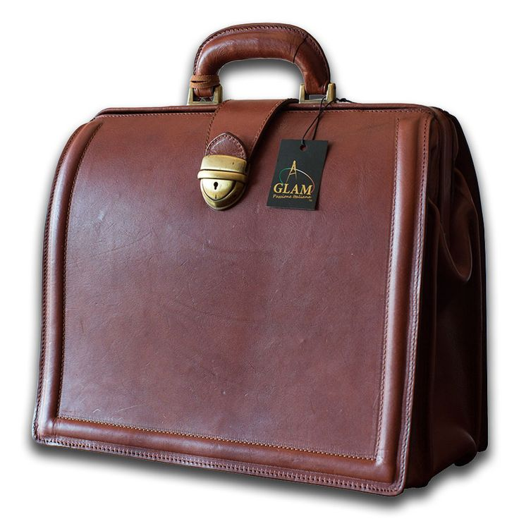 Vintage Briefcase Russet