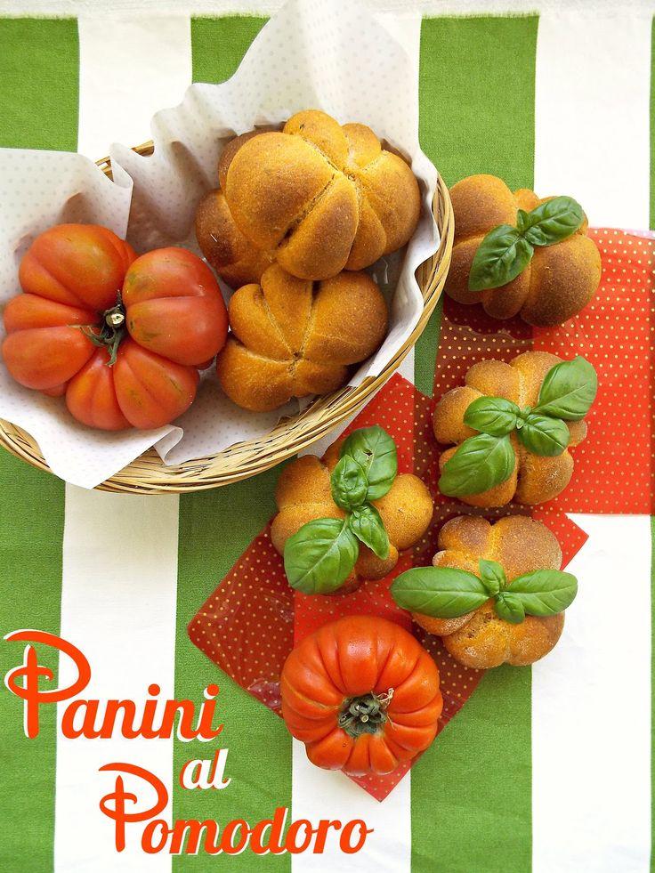 PANECILLOS AL TOMATE (Panini al pomodoro) #PanesOriginales
