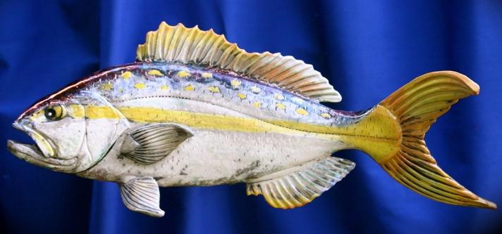 Raku fish Yellowtail Snapper