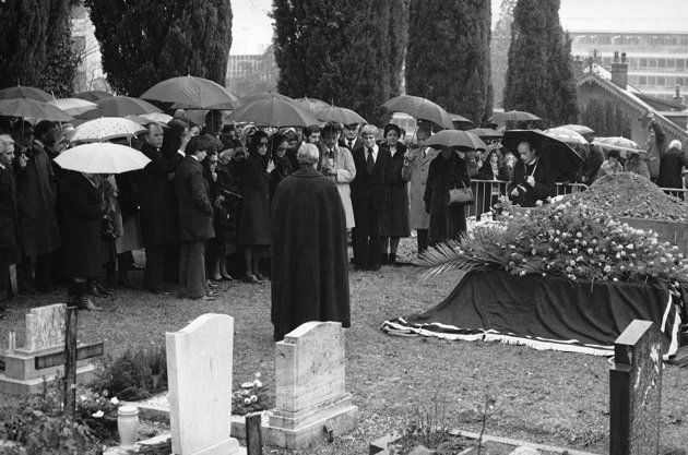 Image result for chaplin funeral