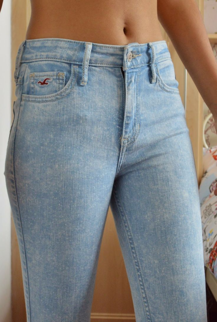 high rise super skinny hollister jeans acid wash this is