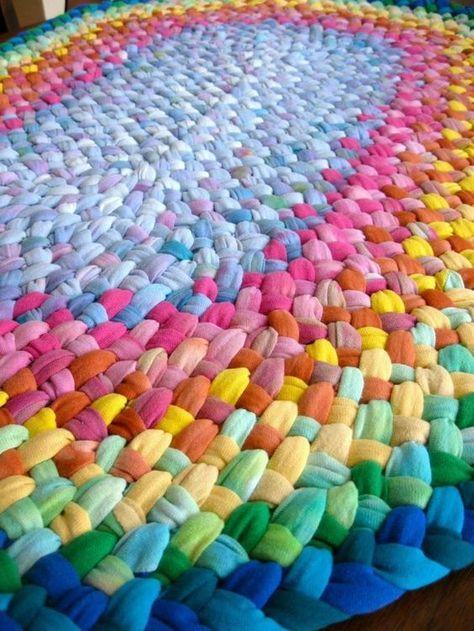 Ideas para decoración: Alfombras tejidas en tela | Ideas para Decoracion