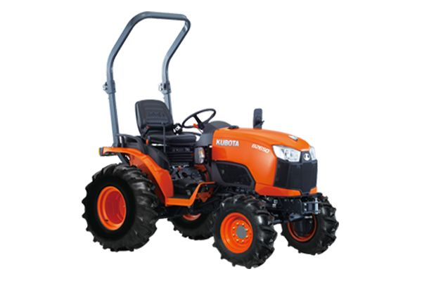 ENGINE TYPE – Kubota D1305-E4-D26CH-E, Indirect Injection, Vertical, Water Cooled, 4 Cycle Diesel ENGINE GROSS POWER – 19.1 kW (25.6 HP) PTO POWER – 14.6 kW (19.5 HP) TRANSMISSION – Infinite (3 Ranges) TURNING RADIUS – 2.1 m (w/Bi Speed) 3-POINT HITCH CATEGORY – I LIFT CAPACITY AT LINK END – 970 Kg TRACTOR WEIGHT – 755-780 Kg *Kubota Built (Optional) Front Loader