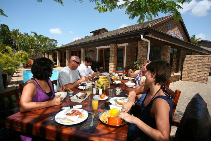 Al Fresco Breakfast @ Marlin Lodge St Lucia