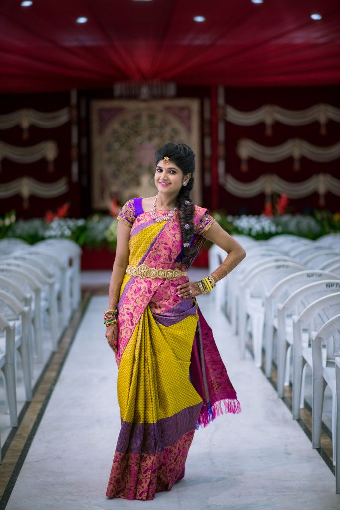 Prabha's wedding story is a classic boy's-family-meets-girl's-family story but trust us, there is a lot of mirchi on the way that you don't wanna miss. So, let's start our classic story, the classic way! Meet our bride – Prabha who has a degree in Fashion Technology and MBA from India and went to London for her M.S. She had worked with Amazon for two and half years. Marriage was the last thing in her mind so Prabha kept stalling while her younger sister, be...