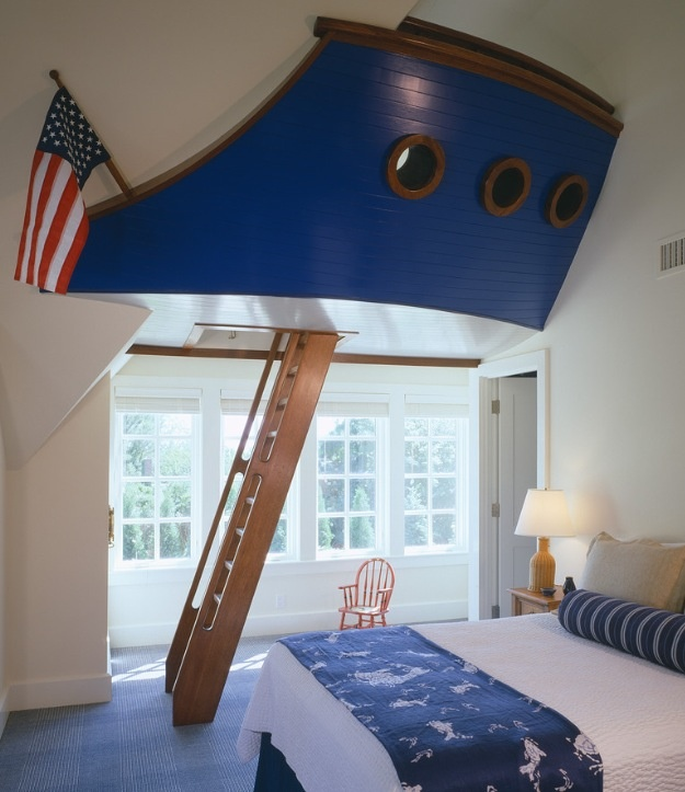 What A Great Way To Use Space AND Create A Secret Play Area!