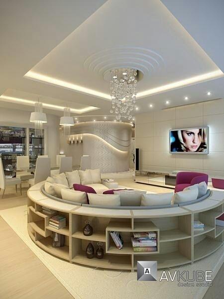 Si le salon est un espace où lon se repose on lit on regarde la télévision il est souvent difficile dy disposer des livres ou tout autre objet à proxi