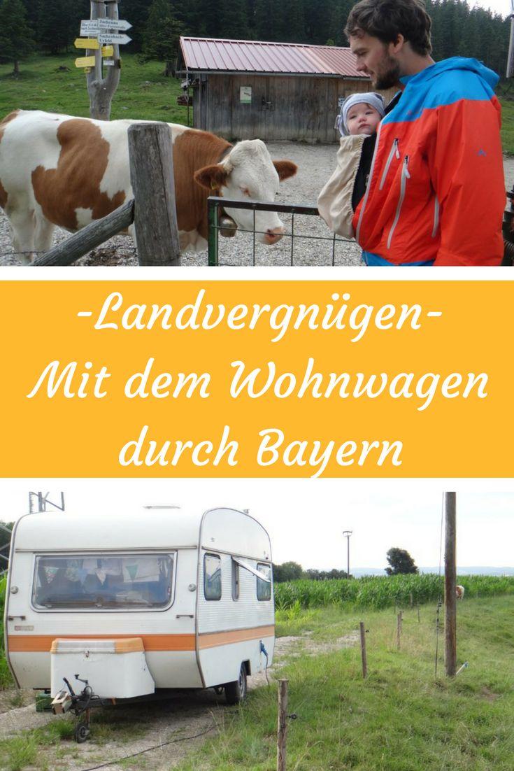 Landvergnügen -mit dem Wohnwagen durch Bayern. #landvergnügen #wohnwagenstellplätze #übernachtungsplätze #bayern #wohnwagen #camper #vintagecamper #vintagecaravan #caravan #wunderschönesbayern #urlaub #bauernhof #camping #clamping